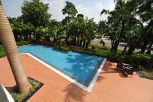 Xây dựng bể bơi phục vụ cư dân Aquabay Ecopark