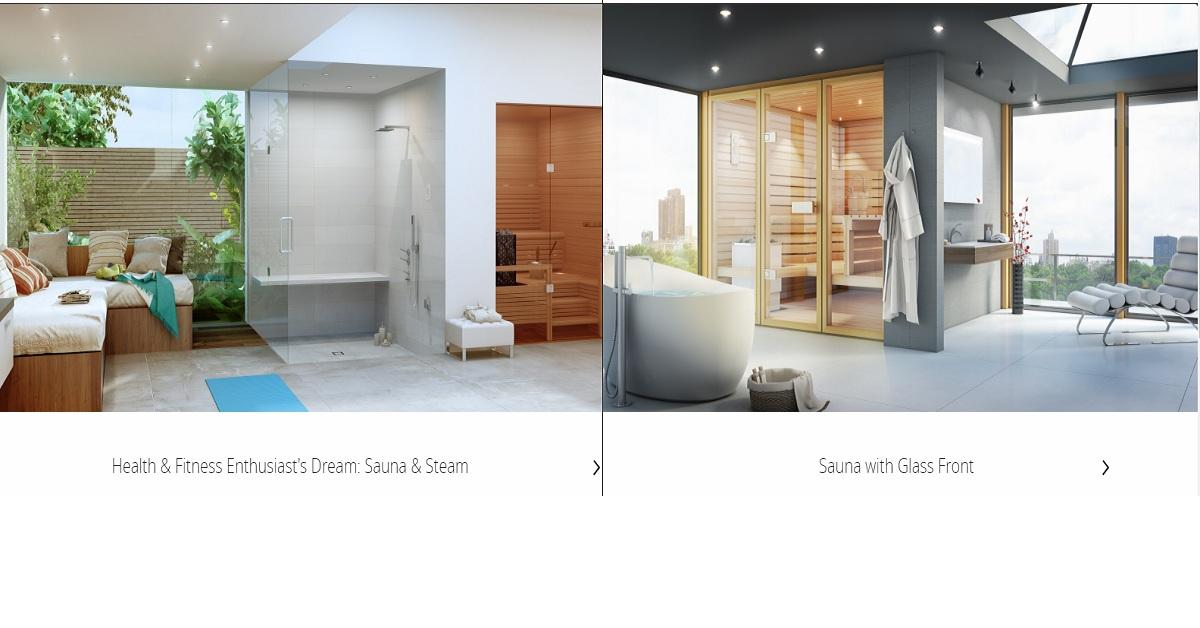 Phòng xông hơi ướt Amerec giúp bạn có giấc ngủ ngon hơn.